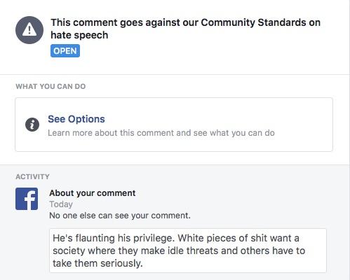 FB Ban again