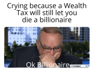 Crying Billionaire