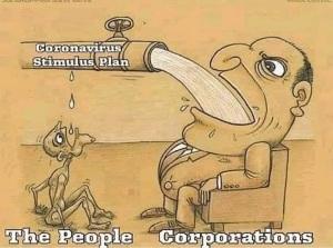 Coronavirus Stimulus Plan Corporations Meme