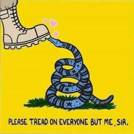 Please tread on everyone